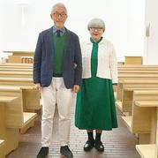 退休是新生活开始 毛衣也从来没有年龄之分