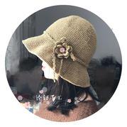 """""""帽""""美如花- 清涼亞麻女士鉤針帽子"""