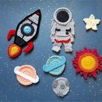 用手工编织打造星辰,编织人对浩瀚太空拥有同样沸腾的着迷
