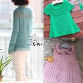 201915期周熱門編織作品:春夏女士兒童手工編織服飾10款