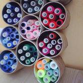 毛线小配件创意收纳  超实用DIY小手作赶紧学起来