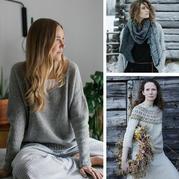 簡約自然冷淡風的北歐風針織 四季皆可的舒爽愜意