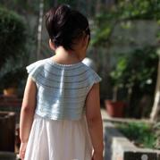 一天就可以完成吊带裙儿童钩针外搭小坎肩