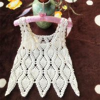 4股棉編織經典女士鉤針菠蘿小背心