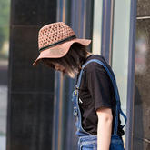 夏日棉草遮阳帽(3-2)巴拿马款 钩针帽子北京pk10信誉平台视频pk10秒速赛车权威信誉网