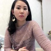 精美女士棒针镂空花志田七分袖套衫