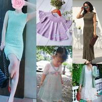 201923期周熱門編織作品:12款手工編織兒童成人春夏服飾