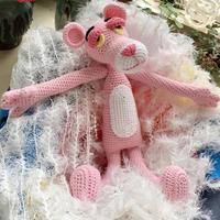 粉红顽皮豹玩偶编织图解