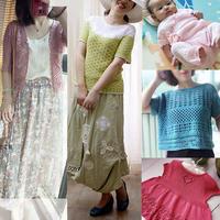 201925期周熱門編織作品:20款兒童成人2019夏季鉤針棒針編織服飾