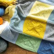 曇花毯 手工編織毛線毯編織視頻教程