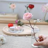 文具店就可以找到的材料DIY花枝超逼真,还能放水里