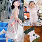 201928期周熱門編織作品:2019手工編織春夏女士兒童服飾9款