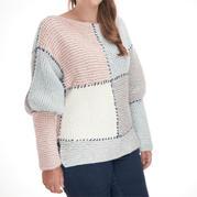 这种方法简单到零基础也可以很快织出一件毛衣……