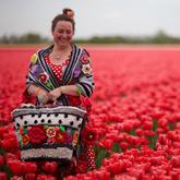 色彩與創意鉤針的玫瑰人生 鉤針藝術家Pollevie