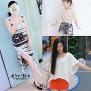 201930期周熱門編織作品:手工編織女士兒童服飾10款