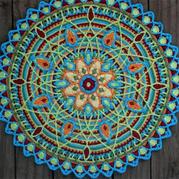 層巒疊嶂 超詳細的鉤針曼陀羅花樣圖文教程