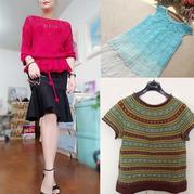 201932期周熱門編織作品:女士手工編織服飾10款