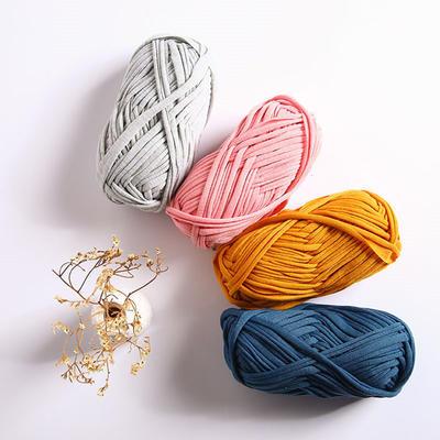 布条线 泫雅编织包包diy材料小红书编织包超粗线