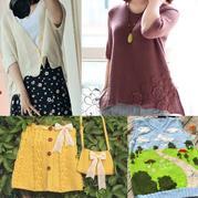 201933期周熱門編織作品:兒童女士手工編織服飾13款
