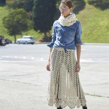不容错过手工编织单品 时尚百搭钩裙四季可穿