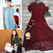 201936期周熱門編織作品:手工編織兒童成人編織服飾15款