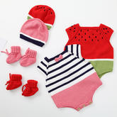 跳跳糖嬰兒鞋(3-3)嬰幼兒棒針爬服套裝編織視頻