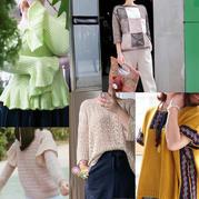 201938期周熱門編織作品:手工編織兒童女士服飾20款