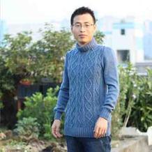 传说中18股羊毛成就的男士加厚高领毛衣