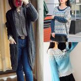 201943期周熱門編織作品:女士男士兒童手工編織服飾9款