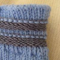 有关毛裤松紧带的几种编织方法