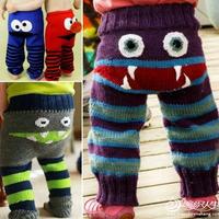 快乐童年趣味编织宝宝裤子