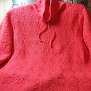 新顏 拆片羊絨女士棒針休閑領套頭毛衣