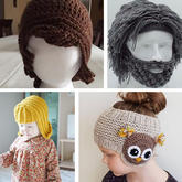 玩轉毛線創意從頭做起 帽子還可以這樣織