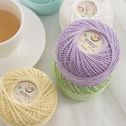 如意鸟5号蕾丝线 手工DIY质料勾针棒针手编毛线宝宝棉5号蕾丝夏季衣服棉线