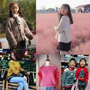 201945期周热门北京pk10信誉平台作品:棒针北京pk10信誉平台儿童女士秋冬毛衣13款