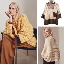 赏大牌采集编织灵感 比利时奢华针织品牌Tuinch2019冬款毛衣