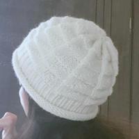 简单好织棒针毛线帽织法说明