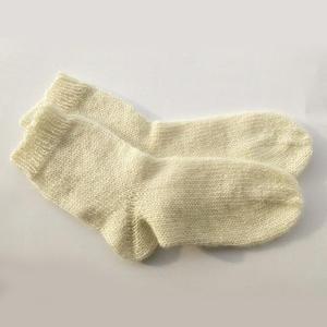 用到德式往返织的棒针毛线袜织法说明