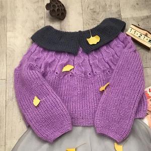 这款毛衣可以秒杀3-50岁年纪 韩版休闲女士棒针马海毛衣