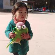 純音 娃娃家編織小恐龍鉤針玩偶