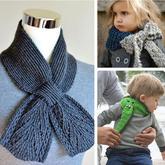 雖然它很小但很暖 經典XY型結構小圍巾編織創意欣賞