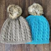 單麻花帽子(3-1)鉤針阿倫花樣帽子編織視頻
