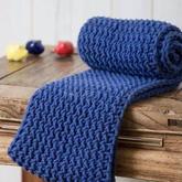 手把手教你織經典棒針水浪花毛線圍巾圍脖編織視頻教程