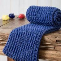 手把手教你织经典棒针水浪花毛线围巾围脖编织视频教程