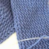 水浪花棒针围巾编织视频教程