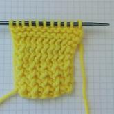 外国平针怎么织?编织圈热传的棒针针法花样编织说明