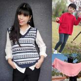 202001期周熱門編織作品:手工編織女士兒童秋冬毛衣7款