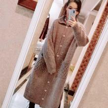 妈妈织的才是最称心如意的  Free style风格女士棒针长款风衣