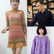 202002期周热门编织作品:编织达人带着满满爱意织就秋冬毛衣15款