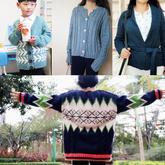 202004期周热门编织作品:女士儿童棒针秋冬手编毛衣13款